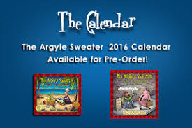 the argyle sweater