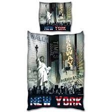 New York City Duvet Cover Accessoires New York On Decoration D Interieur Moderne New York