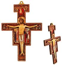 san damiano crucifix san damiano two dimensional cross the catholic company