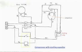 compressor wiring diagram compressor wiring diagram single phase
