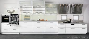 Modern White Kitchen Cabinets Decorating Clear - Modern white cabinets kitchen