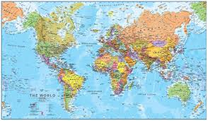 World Map Printable by Political World Map Poster1 Jpg