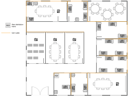 Office Building Floor Plan Office 13 Computer And Networks Network Layout Floor Plans