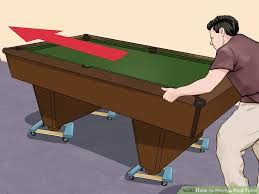 Pool Table Rails Replacement by 3 Ways To Move A Pool Table Wikihow