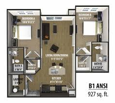 House Design Plans Pdf 2 Bedroom House Plans 3d Apartments Floor Indian For Sq Ft Two