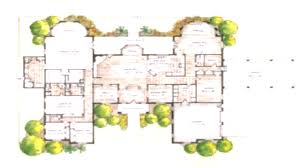 u shaped ranch houses houseplans com throughout c floor plans for