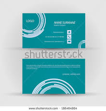 Business Cards Front And Back Set Modern Vector Business Card Template Stock Vector 192307505