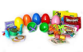 filled easter eggs plastic filled easter eggs 1000 eggs filled candy sticker