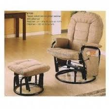 Glider Rocker With Ottoman Rocker Glider Recliner With Ottoman Foter