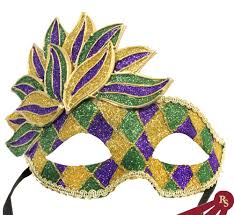 mardi mask mardi gras masks masks gold purple and green carnival