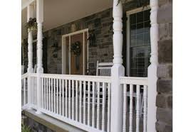 carolina vinyl traditional porch post