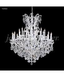 Maria Theresa 6 Light Crystal Chandelier James R Moder 91690 Maria Theresa Grand 46 Inch Wide 25 Light