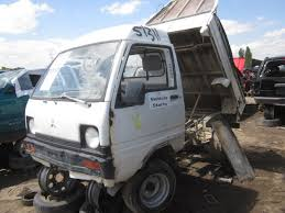 mitsubishi mini truck junkyard find mitsubishi minicab dump truck the truth about cars