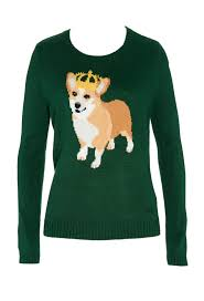 The Queen S Corgis by What A Corgi Sweater A Corgi In A Crown So Yes I U0027d Like It