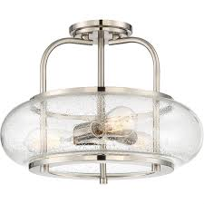 Large Semi Flush Ceiling Lights Seeded Glass Vintage Semi Flush Ceiling Light Large Shades Of