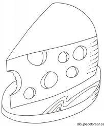 imagenes de ratones faciles para dibujar dibujo de un trozo de queso