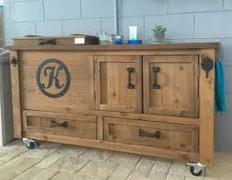 outdoor buffet sideboard rustic cooler cabinet outdoor bar bar