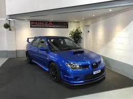 rare subaru models used 2007 subaru impreza sti wrx sti type uk for sale in