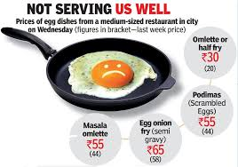 alarming food price rise eggs cost as much as chicken now