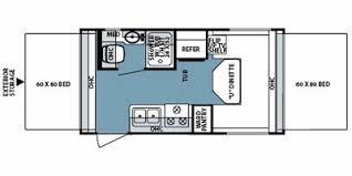 Rockwood Travel Trailer Floor Plans Full Specs For 2008 Forest River Rockwood Roo 17 Rvs Rvusa Com