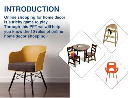 10 rules of online home decor shopping