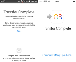 android to iphone transfer app move to iphone from android without losing important data forecovery