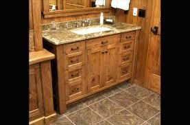 Knotty Pine Vanity Cabinet Northfield Cabinet Shop Mamie Lake