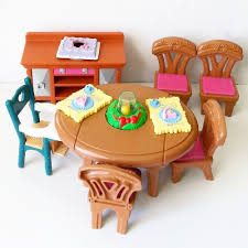 fisher price table chairs fisher price loving family dining set chairs booster buffet cake