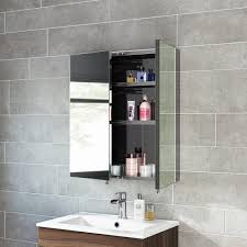double door mirrored bathroom cabinet top 57 brilliant non mirrored medicine cabinet corner bathroom