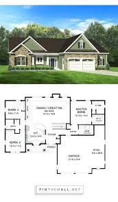 home building cost cost of building a three bedroom house ranch house plan with