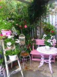 Pictures Of Patio Gardens Best 25 Shabby Chic Patio Ideas On Pinterest Shabby Chic Porch