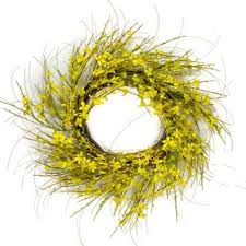 forsythia wreath golden forsythia wreath 28 home decorative accents home