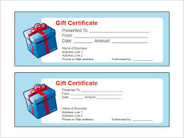 psd birthday gift certificate templates