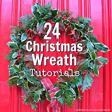 christmas wreaths to make christmas wreath tutorials