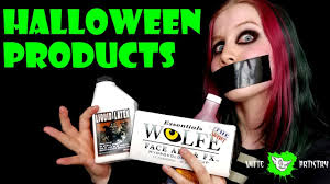 halloween makeup to buy strangest halloween makeup products video you will ever see ode