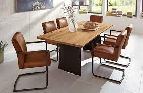 Quadrato Esszimmertisch Niehoff Esstisch 3583 Mit Baumkante Möbel Letz Ihr Online Shop