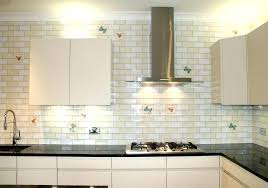 types of backsplashes for kitchen glass subway tile kitchen excellent white gallery in 18