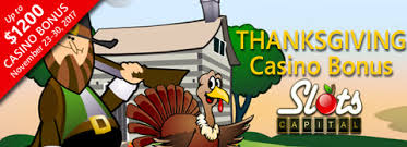 thanksgiving slots slots capital celebrates thanksgiving with a 300 bonus