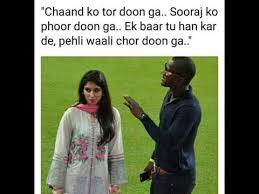 Memes De Sammy - darren sammy and zainab abbas funny love story based on tweets and