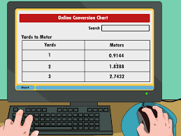 how to convert yards to meters with unit converter wikihow