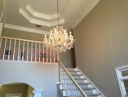 how high to hang a chandelier chandelier height 2 story foyer trgn 6057cebf2521