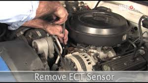 how to change engine coolant temperature ect sensor 1995 chevy