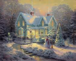 blessings of limited edition the kinkade