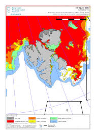 svalbard ice extent 2017 june 23 nis archive png