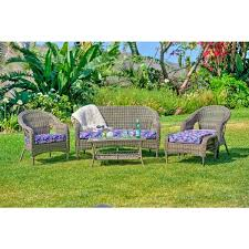 5 piece wicker patio set home design ideas and pictures