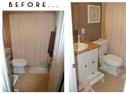 Small Bathroom Makeovers Before And After - of bathroom remodel cost before and after and amazing small
