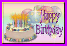 happy birthday graphics and gif animation for facebook