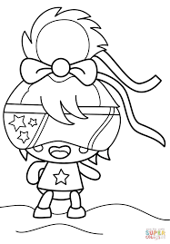 Halloween Moshi Monsters by Moshi Monsters Lady Googoo Coloring Page Free Printable Coloring
