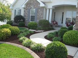 Garden Ideas For Small Front Yards Home Front Yard Design Of Landscaping In The No Maintenance