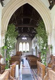 Wedding Flowers Church Pippa Middleton Wedding Flowers Fill Church Where She Wed Daily